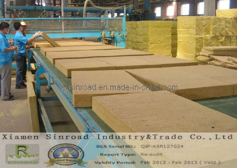 Insulation rock wool board china insulation rock wool for Mineral wool board insulation price