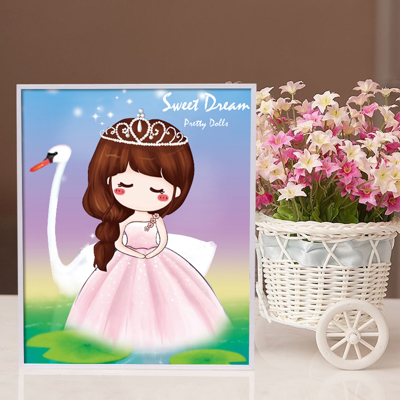 Factory Direct Wholesale Children DIY Craft Sticker Kids Gift K-031
