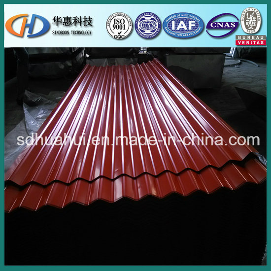 Many Size of Corrugated Steel Sheet with ISO9001