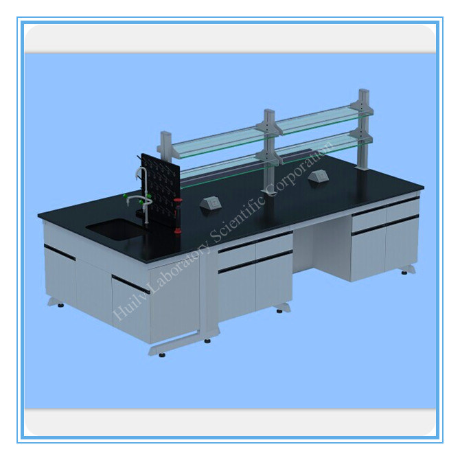 Lab Furniture Products of Workbench with Wheels (HL-GM001)