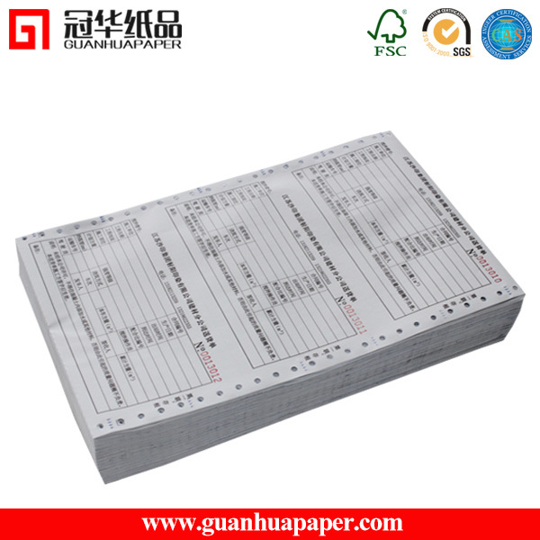 2/3 Ply Continuous Carbonless Printing Paper Computer Paper