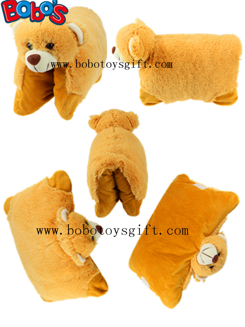 Plush Pillow Stuffed Bear Style Floor Cushion as CE Approved