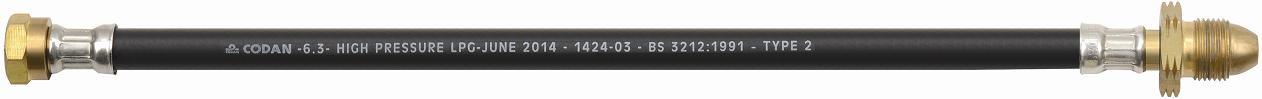 LPG Gas Hose of BS3212 Rubber with Fitting (BS3212)