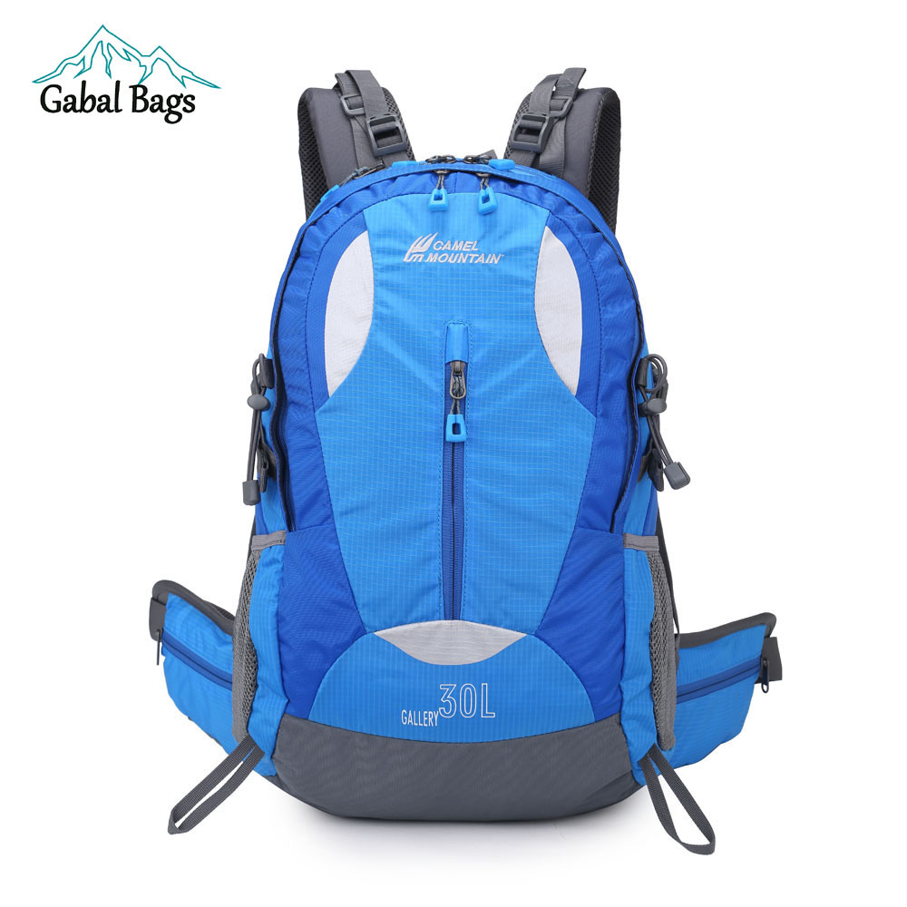 30L Waterproof Outdoor Sports Riding Travel Bags Laptop Hiking Backpack