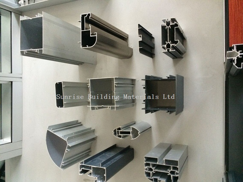 China Aluminum Partition Profile Extrusion For Office Furniture