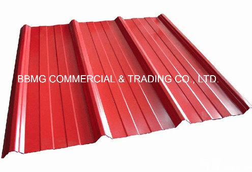 Profile Sheet SGCC Galvanized Corrugation Roofing Sheet