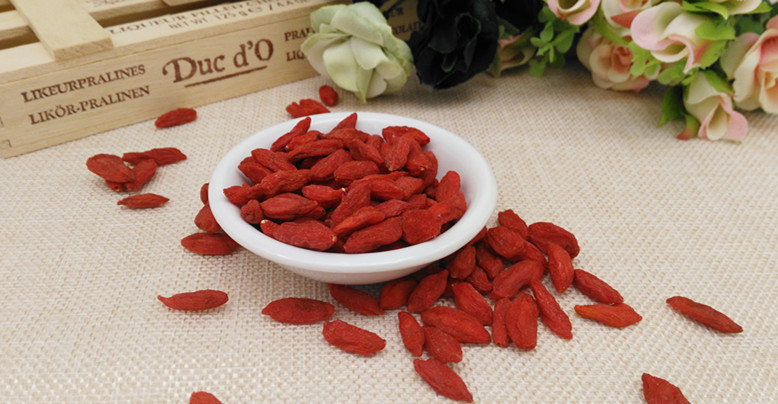 Organic Goji Berry Without Additives or Pesticides Residues