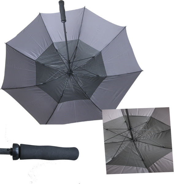 Double Layers Anti UV Golf Umbrella (GU007)