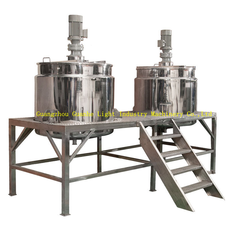 Stainless Steel Shampoo Storage Tanks with Heating & Mixing (GME-500)