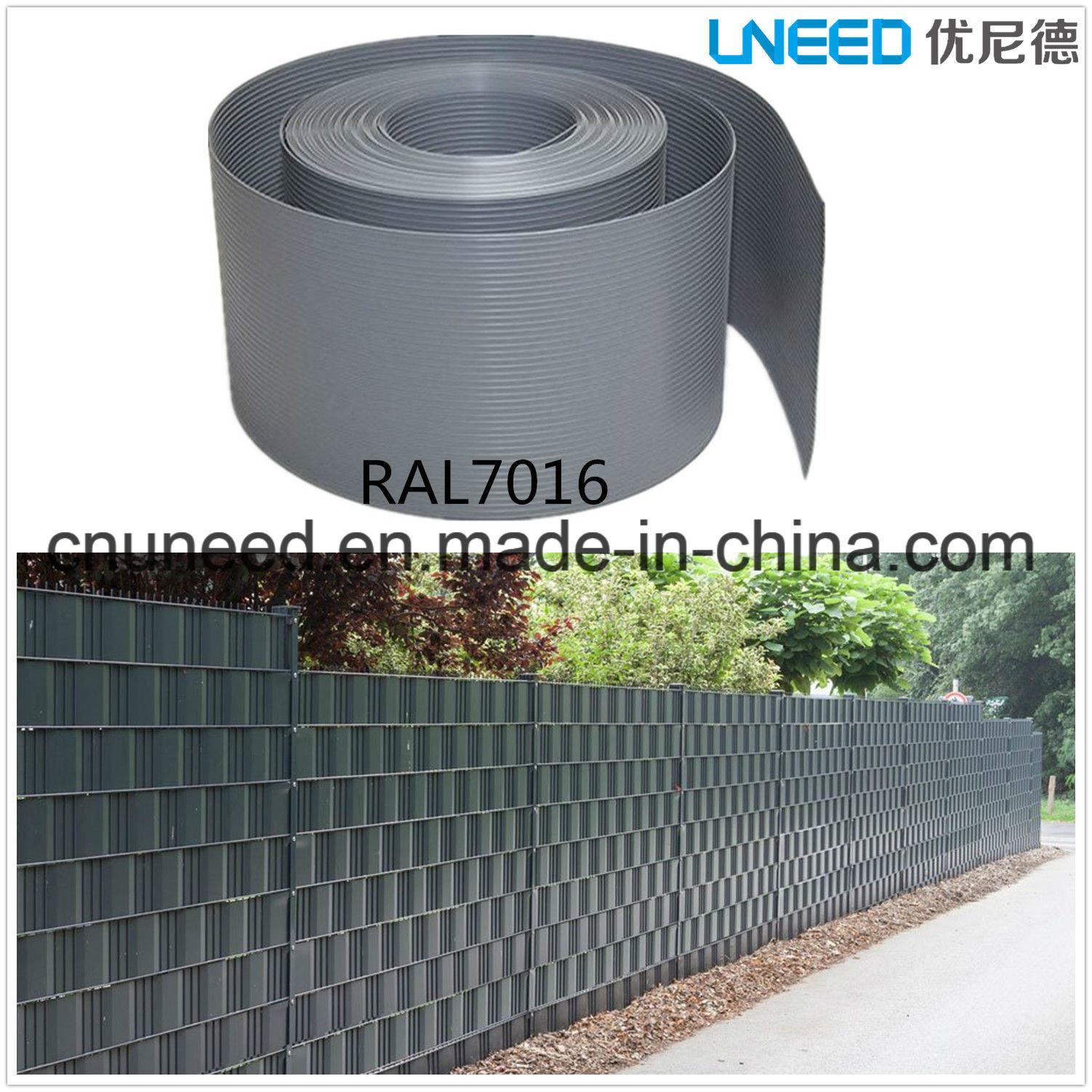 China 100%UV Resistance Ral7016 1 3mm 19cm 2 525m Hart PVC
