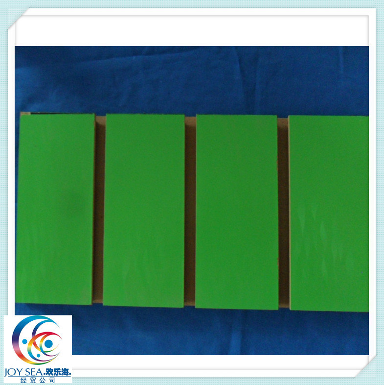 Plain or Melamine Film Faced MDF Slotted MDF with Groove