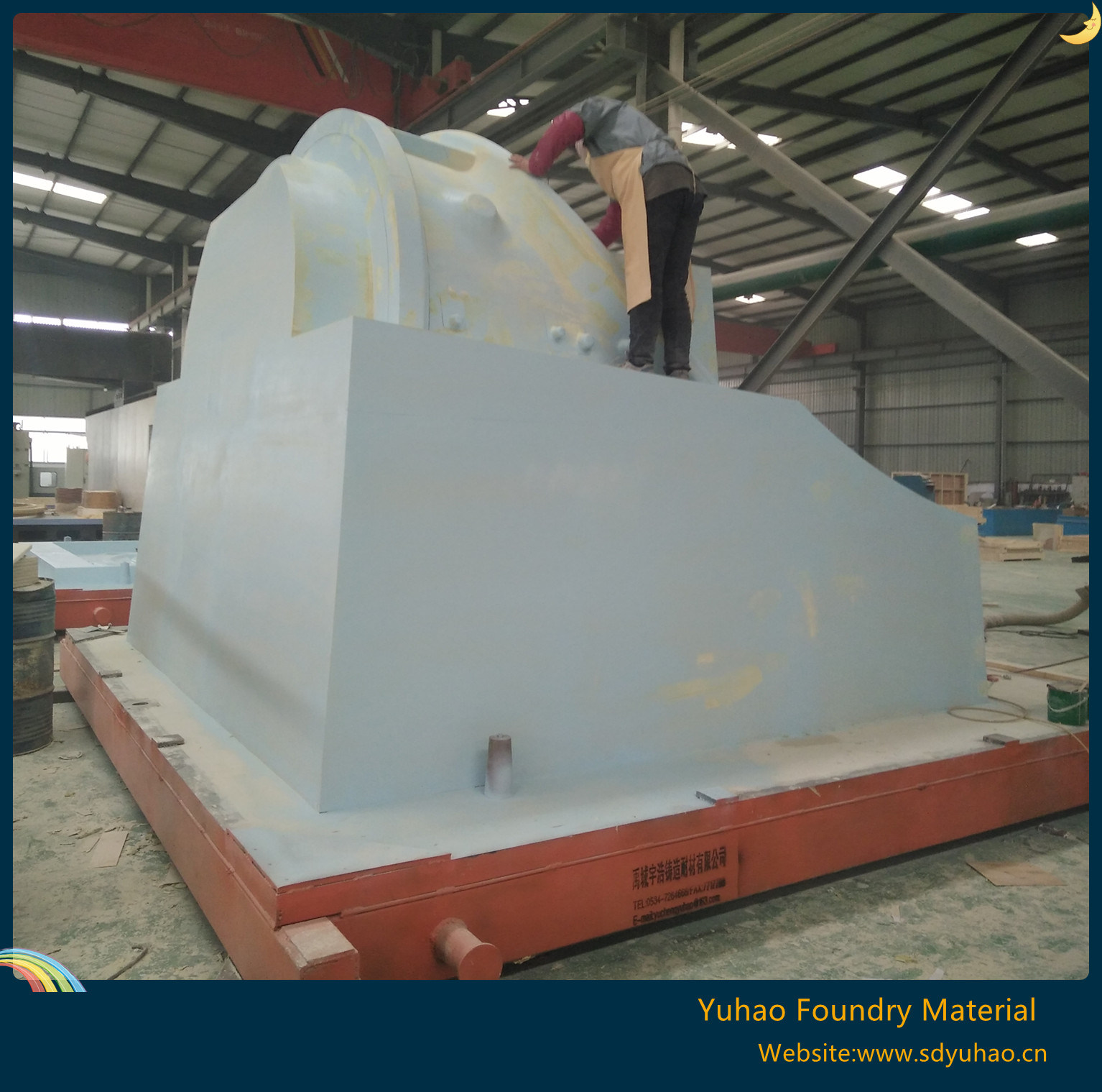 Wooden Casting Mould for Large Casting Parts
