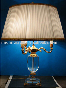 Home Goods Crystal Table Lamp