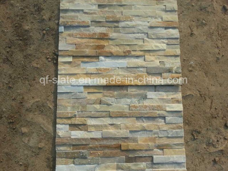 Natural P014/Black Slate Exterior Wall Cladding Tile (Z-XZ03P)
