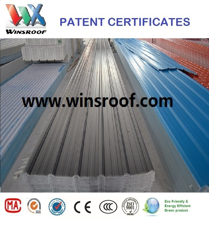 Wins Anti-Corrosive PVC Roof Tile