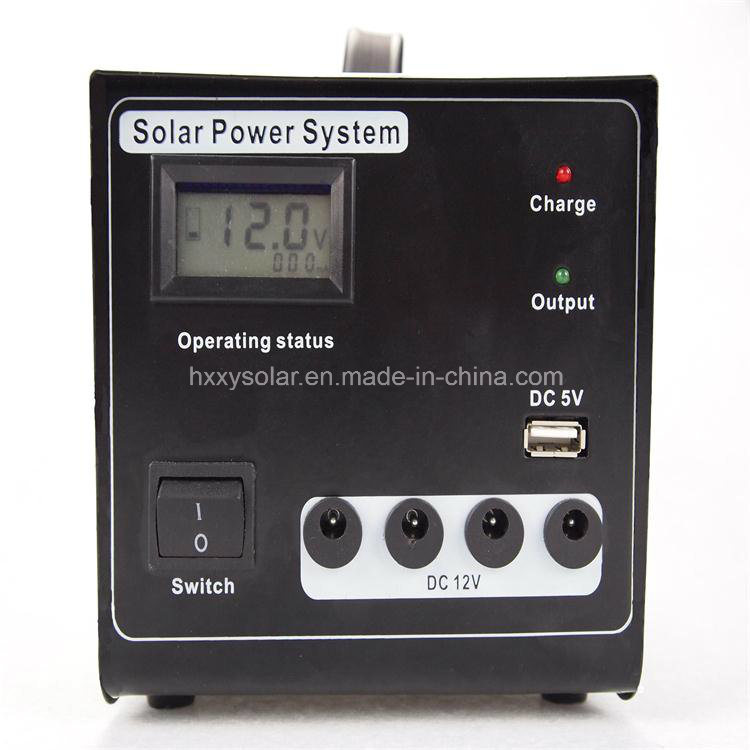 Mini Portable Solar Power System for Home