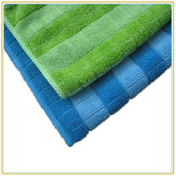 New Style/Color Striped/ Microfibe Towel (14NF43)