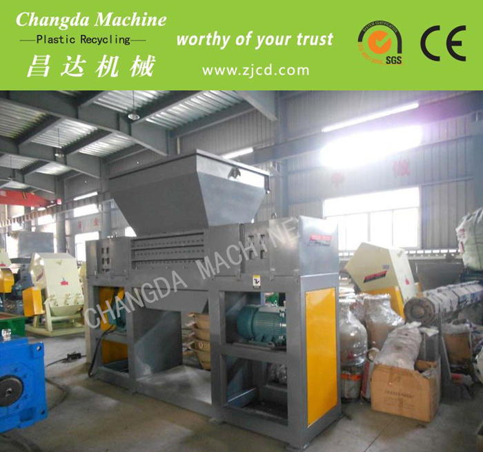 High Output Double Shaft Shredder Machine