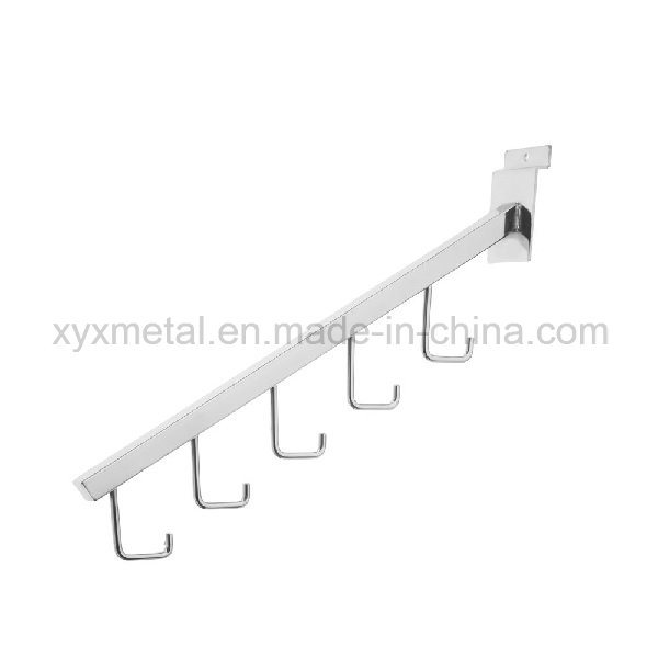Shopfitting Chrome Metal Steel Slatwall Pegboard Accessories Wire Display Hook