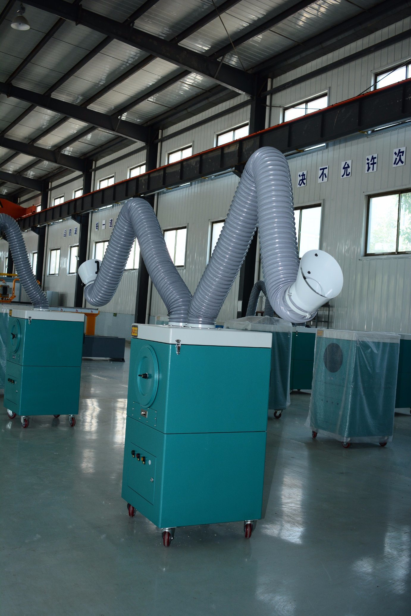 Welding Fume Collector for Welding Station