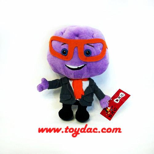 Soft Cartoon Head Toy