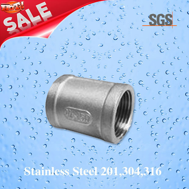 Stainless Steel Female Pipe Coupling, Pipe Fittings