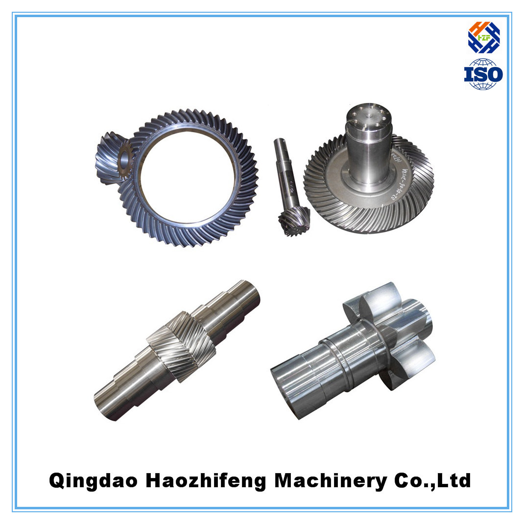 OEM Big Heavy Duty Helical Bevel Gear