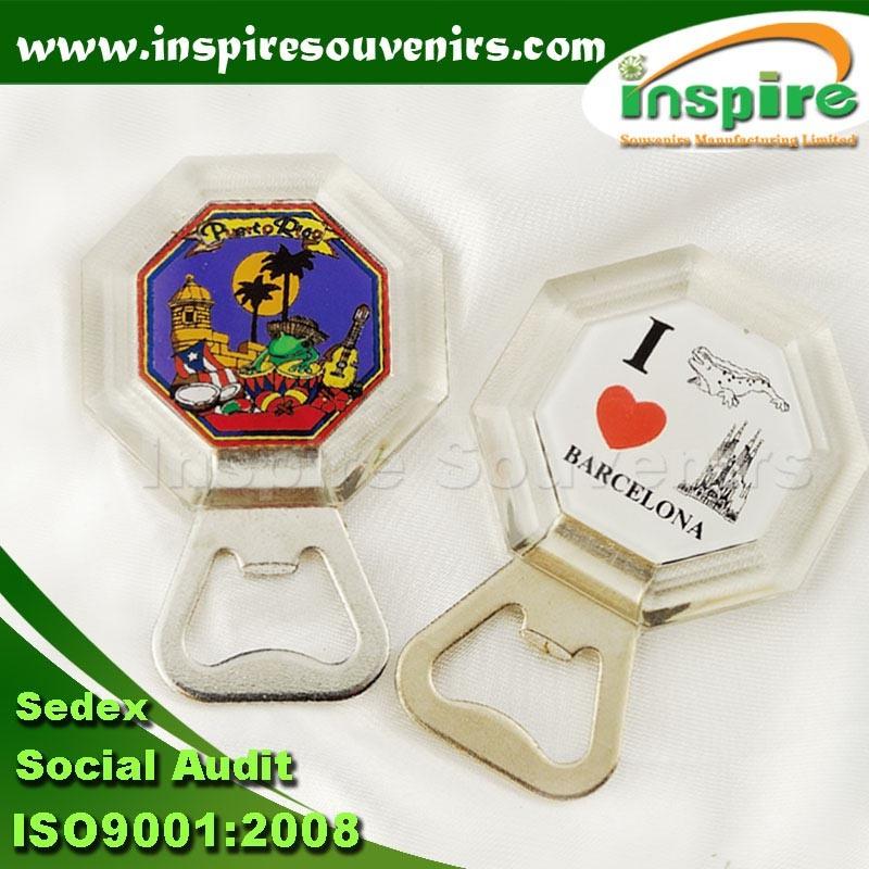 Acrylic Magnet with Bottle Opener (BP-02)