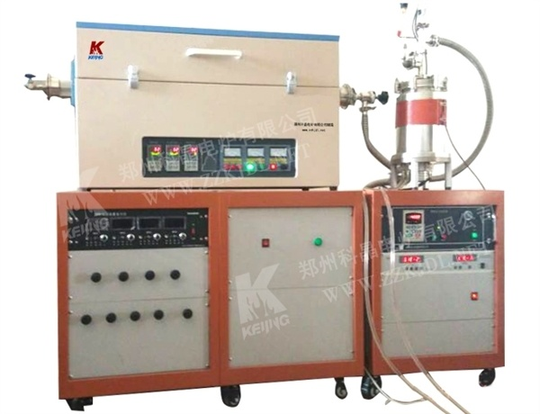 1200c Three Zones Tube Furnace with Gas Mixture System