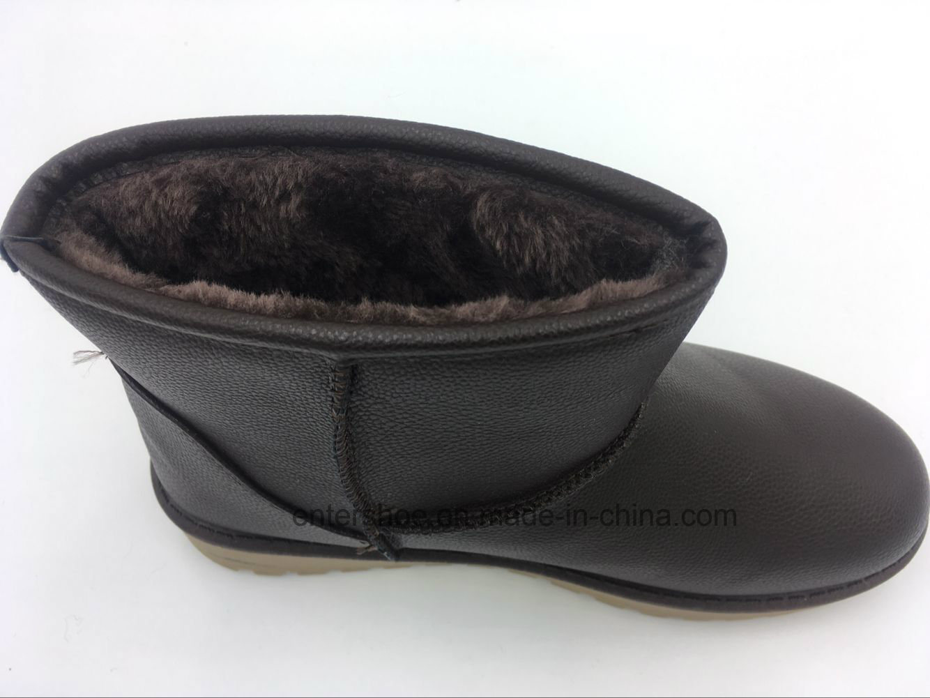 Winter Warm Women PU Snow Boots with PVC Outsole (ET-XK160238W)
