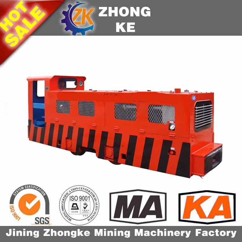 Diesel Hydraulic Locomotive Underground Mining Locomotive for Sale