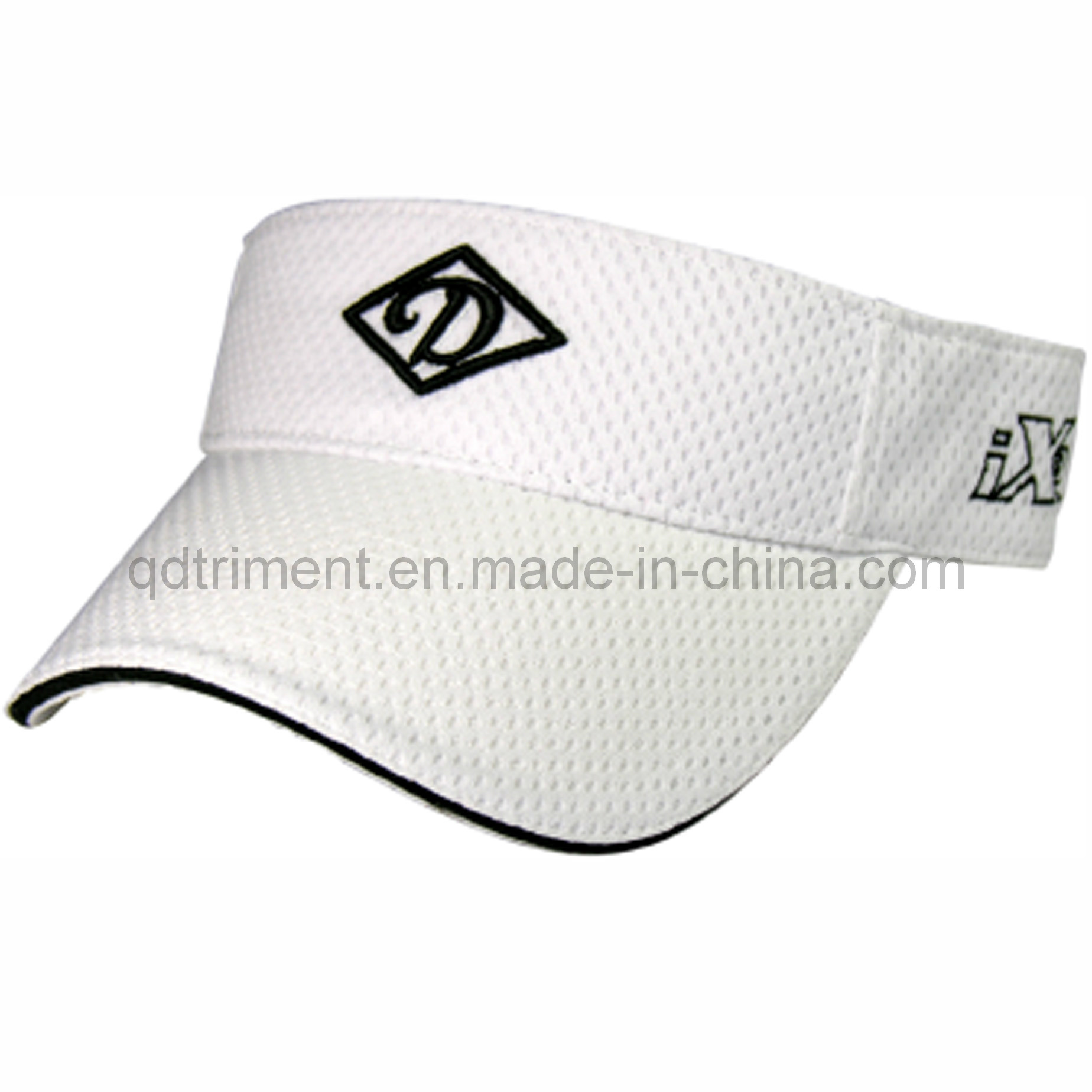 Classic Cotton Twill Embroidery Golf Sport Sun Visor (TRNV037)