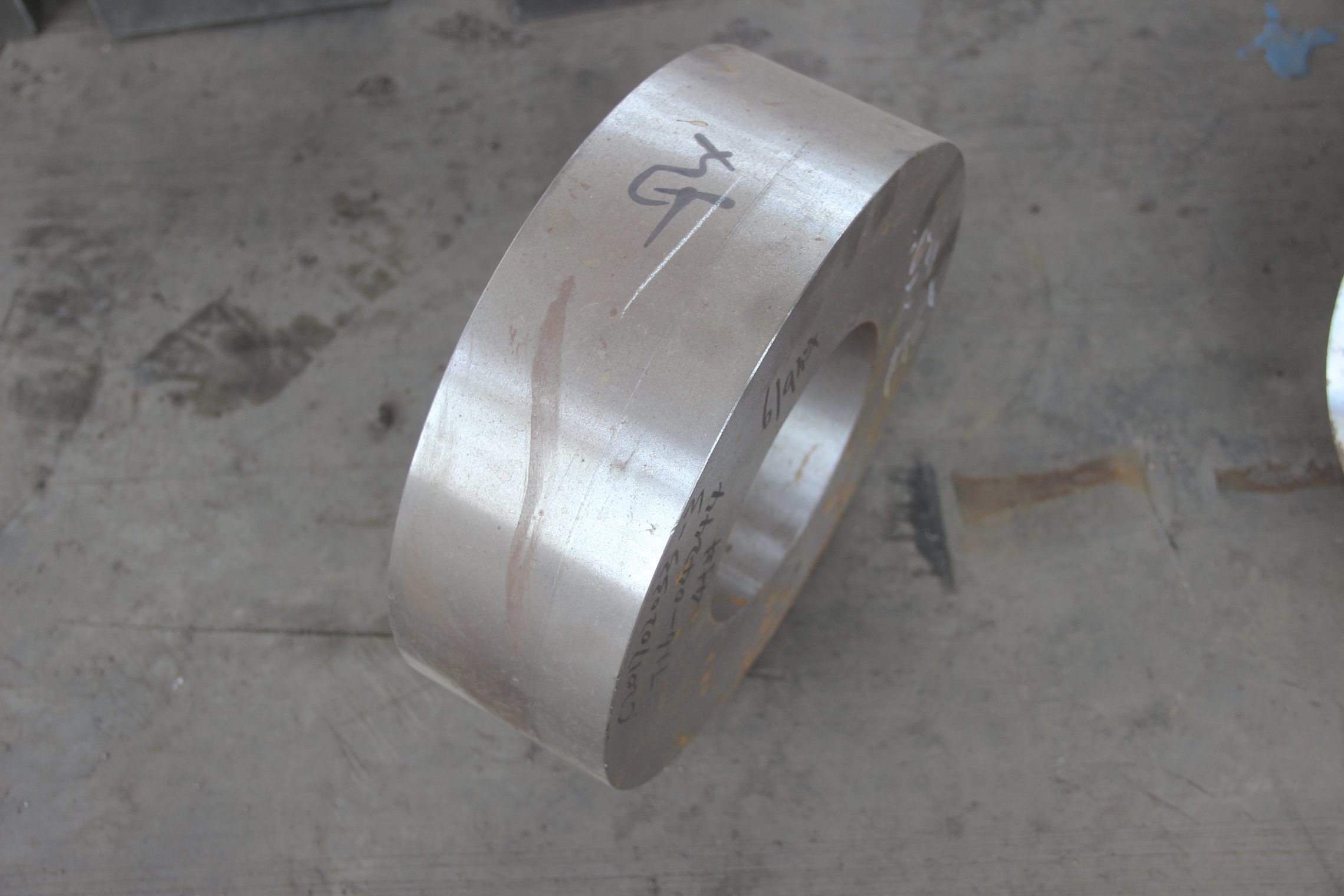 Precision CNC Machined Carbon Steel Forging Rings