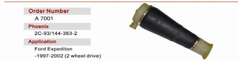 Front Right Air Spring OE 4e06160 40af for Audi A8