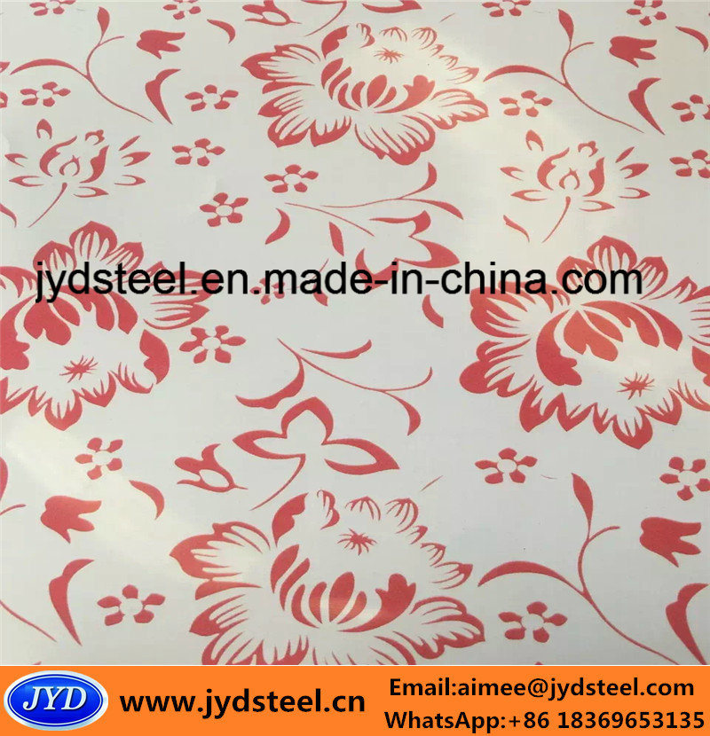 Printed Design PPGI Steel Coil
