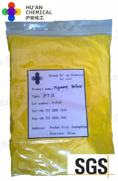 Organic Pigment Yellow, Benzidine Yellow Py12 Yellow Pigment (HA-1202)