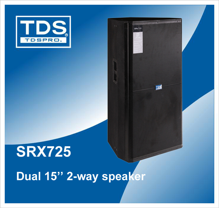 Professional Speaker Srx725