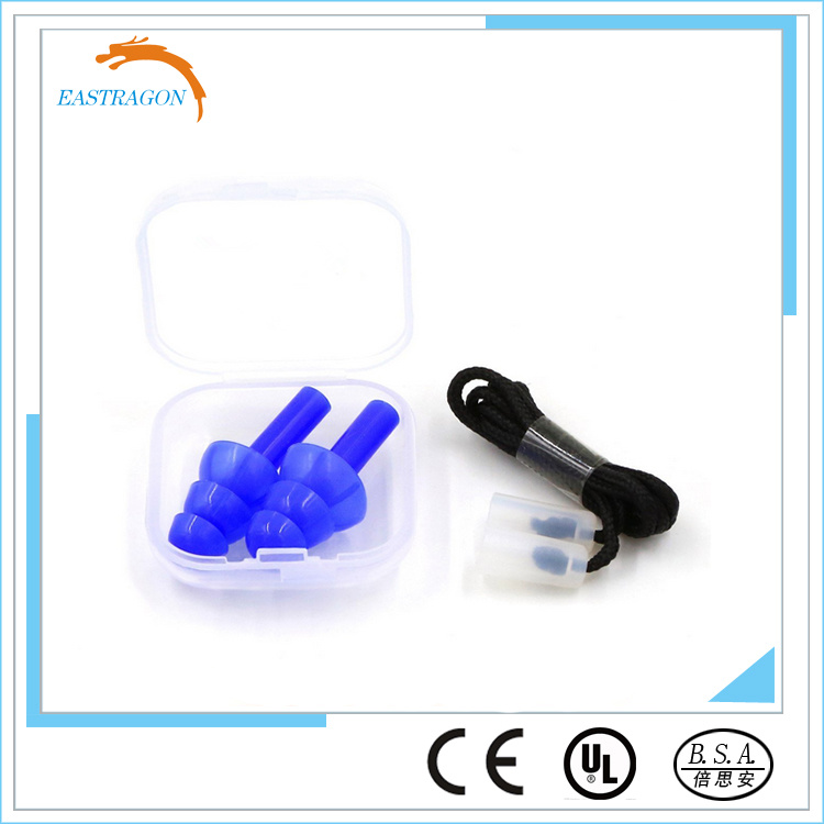 Low Profile Hearing Protection Silicone Ear Plugs