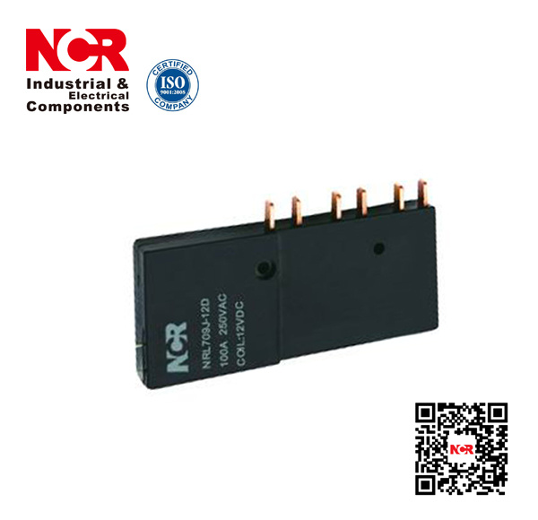 Stable Performance Long Service Life Magnetic Latching Relay (NRL709J)