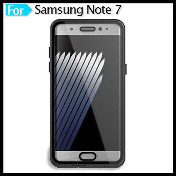 Smartphone Cellphone Buttons Available Full Sealed Anti-Scratch Waterproof Case for Samsung Galaxy Note 7 Mobile Phone