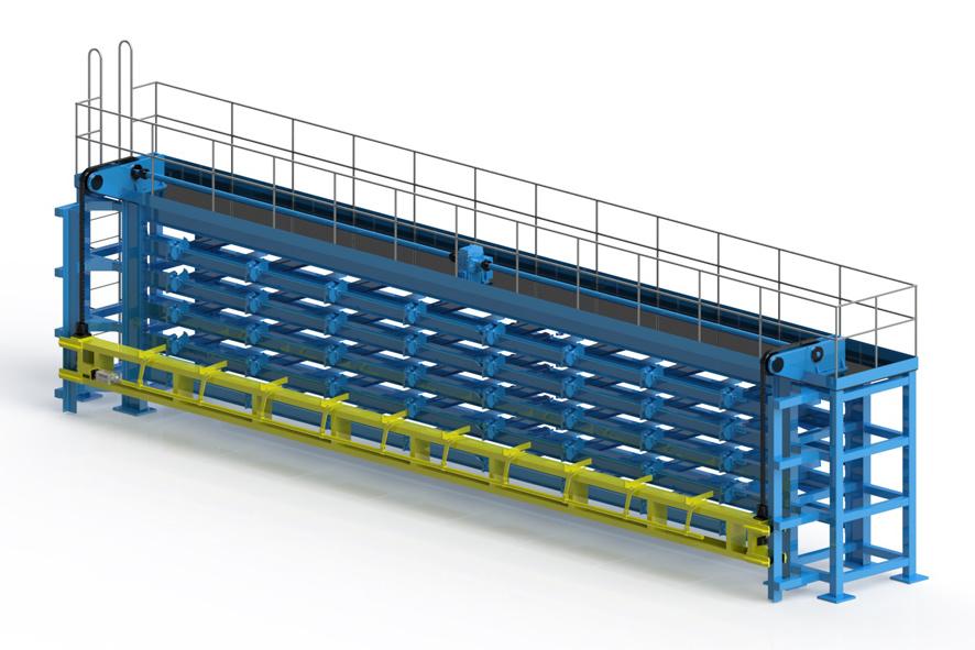 Multi Level Tube Storage System