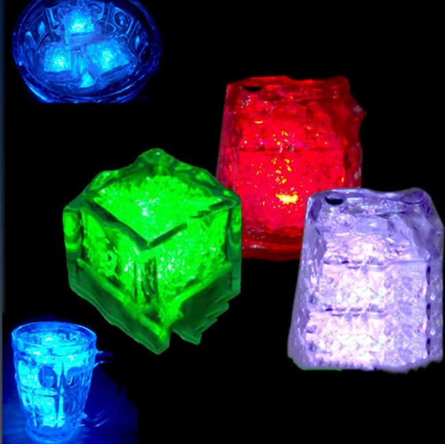 High Quality Drink LED Ice Cube with Logo Printed (3188)