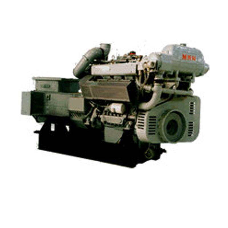 China Deutz MWM TBD234-V6 Auxiliary Generator Marine Diesel Engine ...
