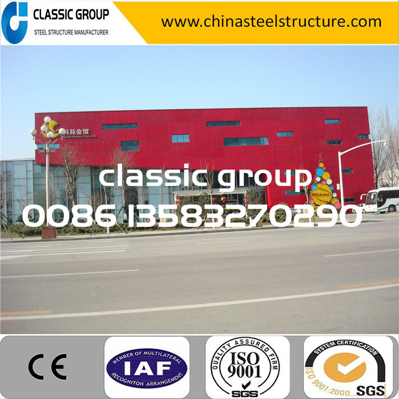 Modern Easy Assembly Steel Structure Prefeb Warehouse Building