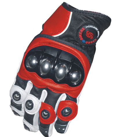 Factory Direct Sale Best Selling Products Fullfinger Leather Motorcycle Glove