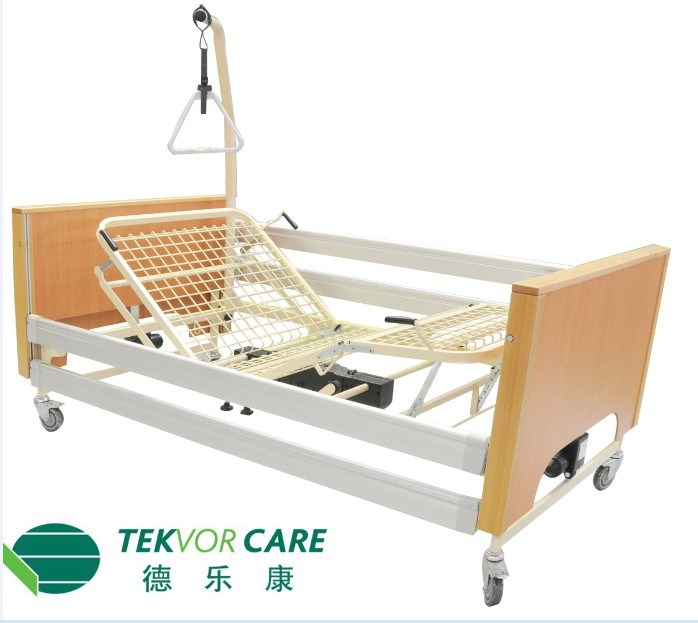 Electric Beds Ni : China full electric low hospital bed wood
