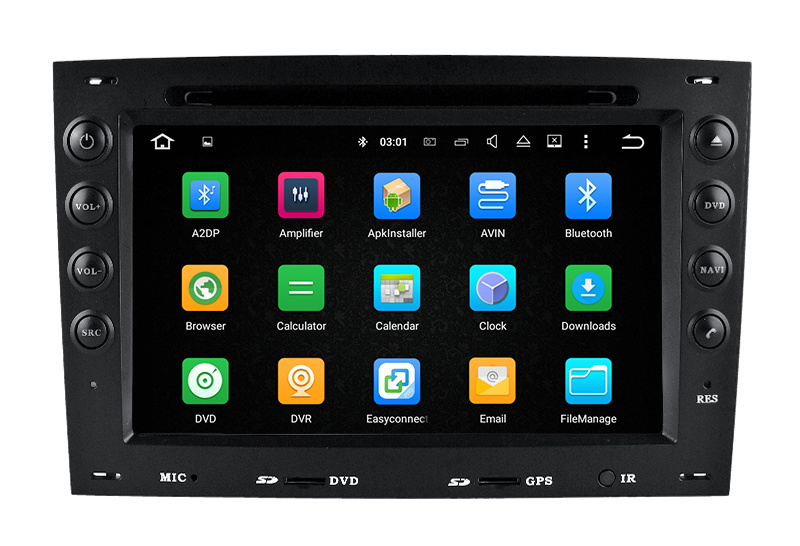 Hla Car DVD 7 Inch Android Car DVD for Renault