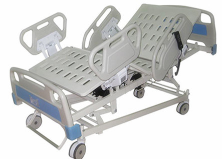 China Suppliers 5 Functions Electric Hospital Bed ICU Bed