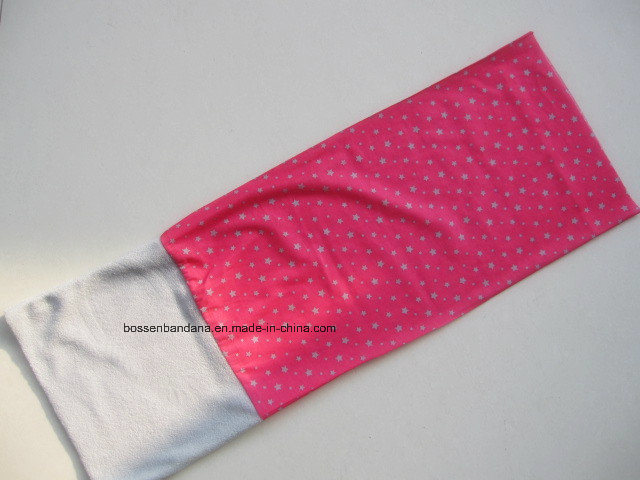 Factory Produce Custom Logo Printed Polar Fleece Tube Bandana