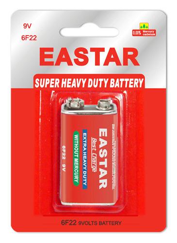 9V 6f22 Extra Heavy Duty Battery